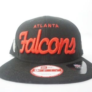 Atlanta Falcons script new era snapback new